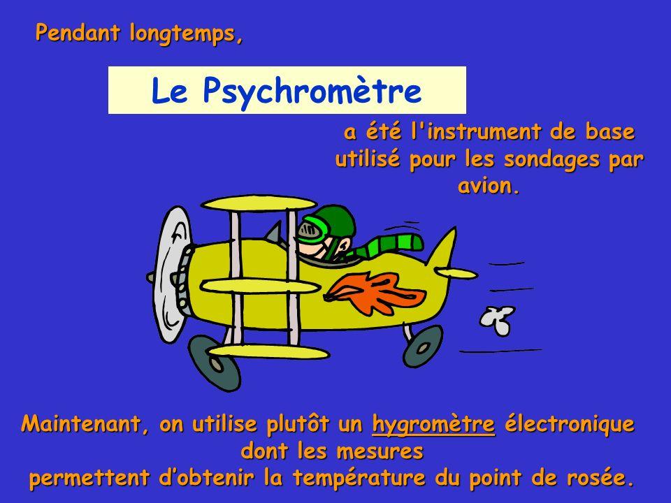 Le Psychromètre Pendant longtemps,