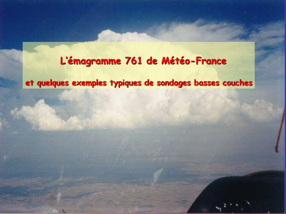 L'émagramme 761 de Météo-France