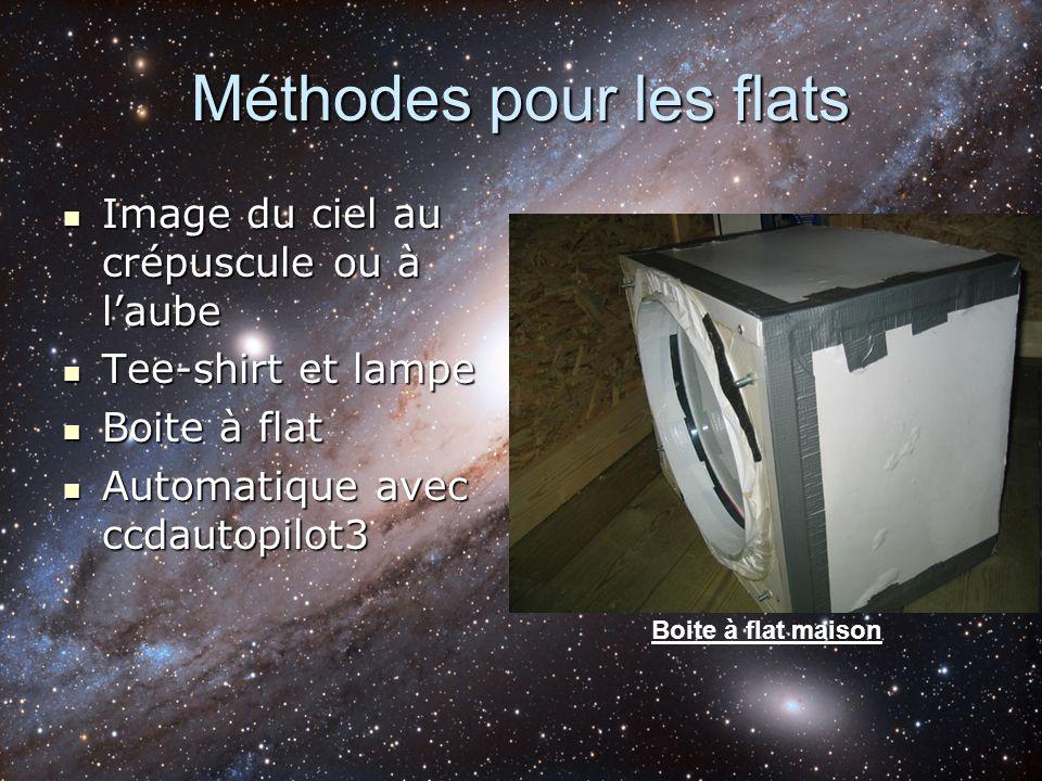 Méthodes pour les flats