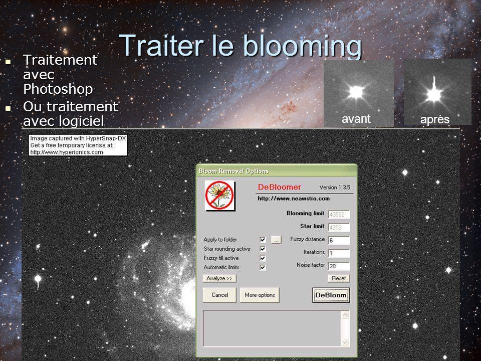 Traiter le blooming Traitement avec Photoshop