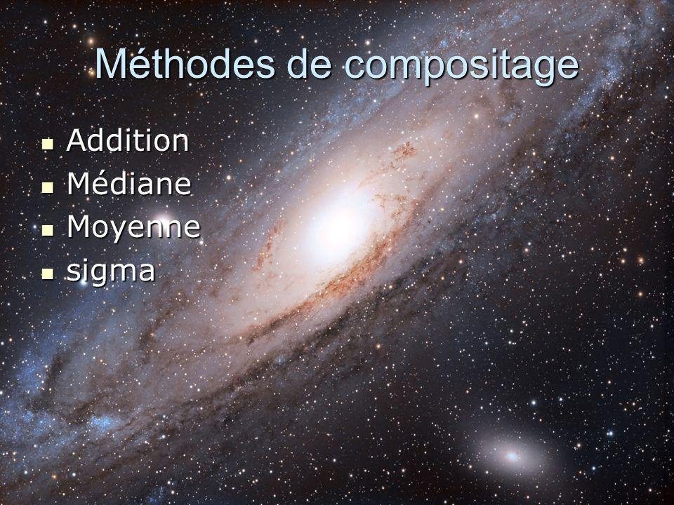 Méthodes de compositage