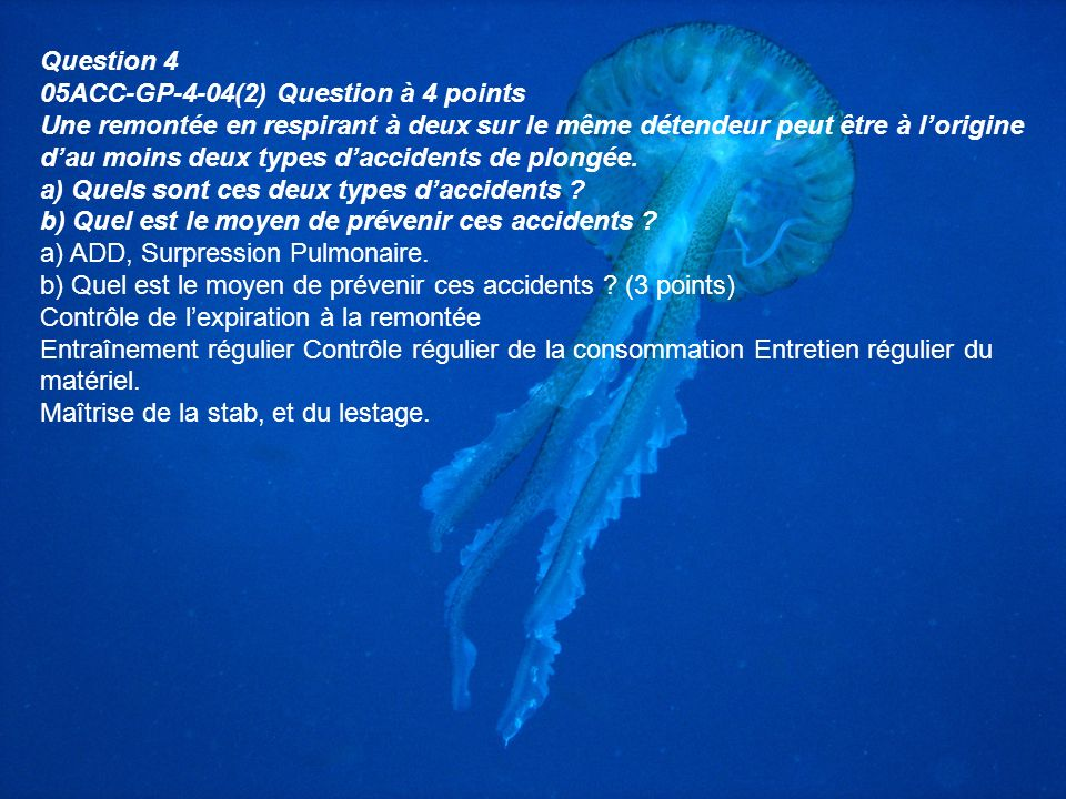 Question 4 05ACC-GP-4-04(2) Question à 4 points.