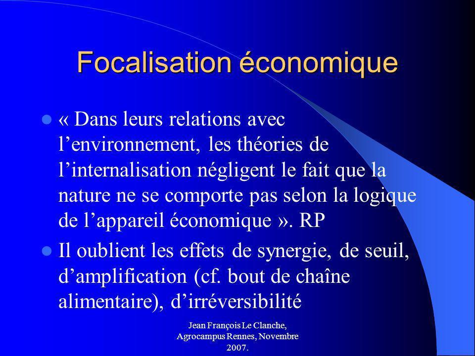 Focalisation économique