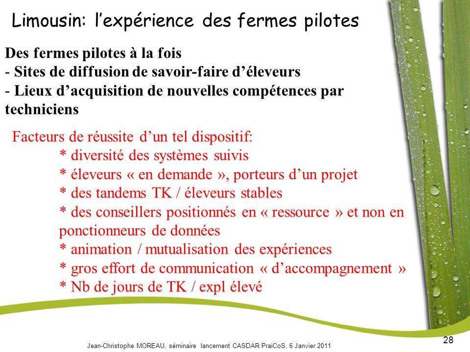Limousin: l'expérience des fermes pilotes