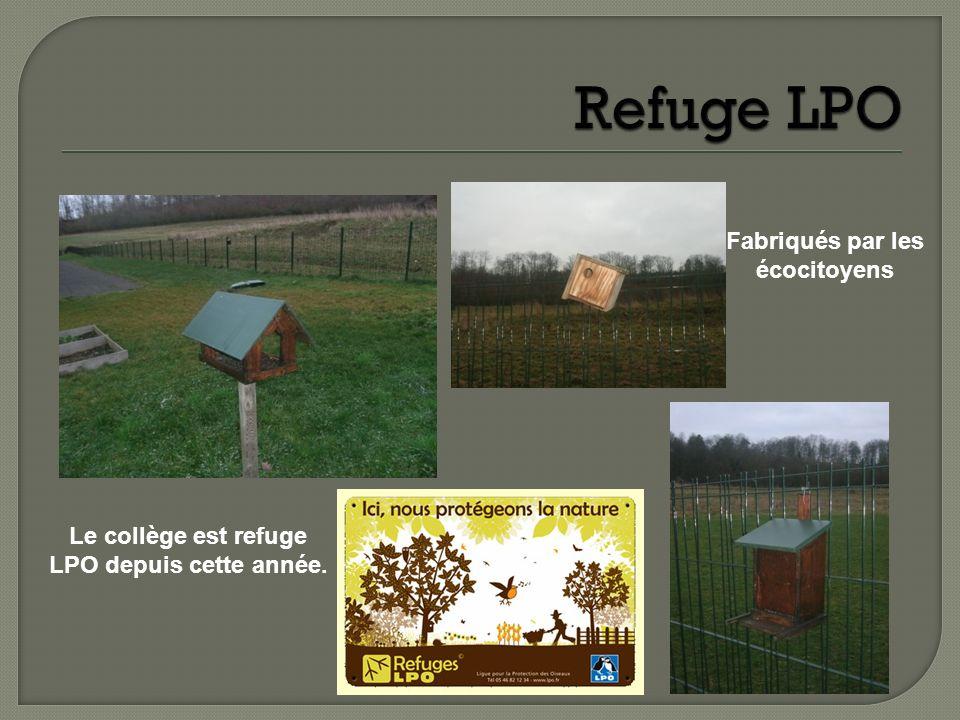 Refuge LPO Fabriqués par les écocitoyens