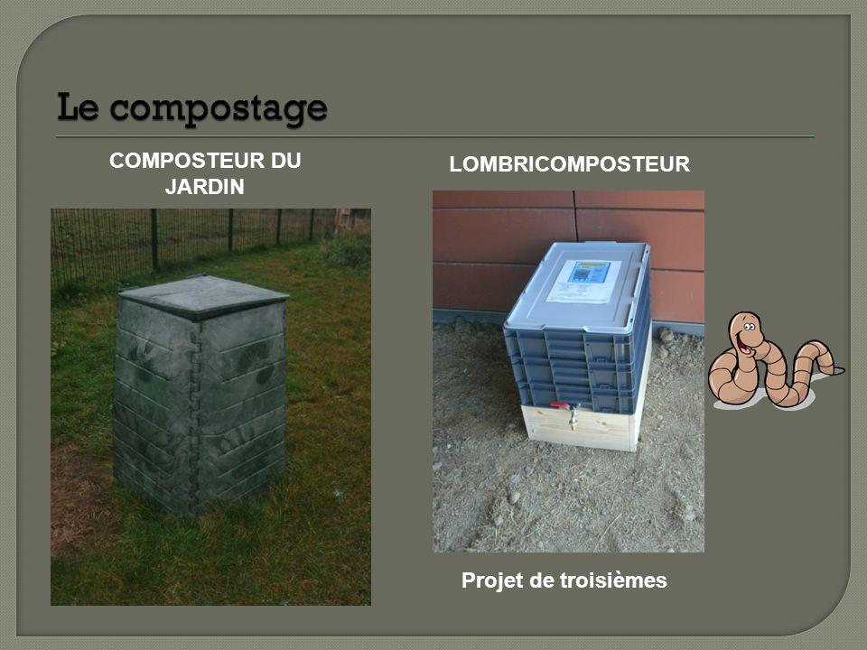 Le compostage COMPOSTEUR DU JARDIN LOMBRICOMPOSTEUR