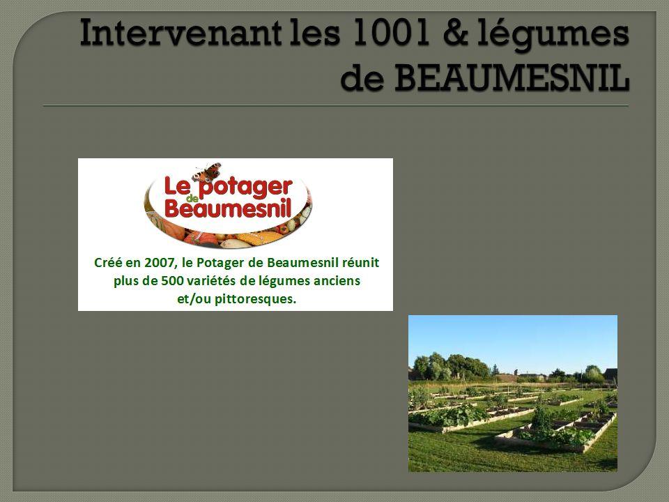 Intervenant les 1001 & légumes de BEAUMESNIL