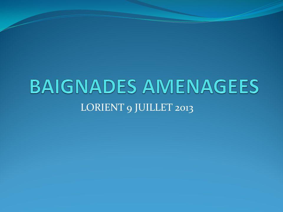 BAIGNADES AMENAGEES LORIENT 9 JUILLET 2013
