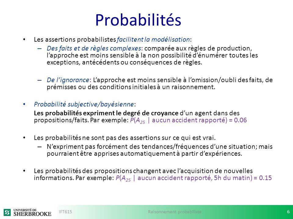 Raisonnement probabiliste