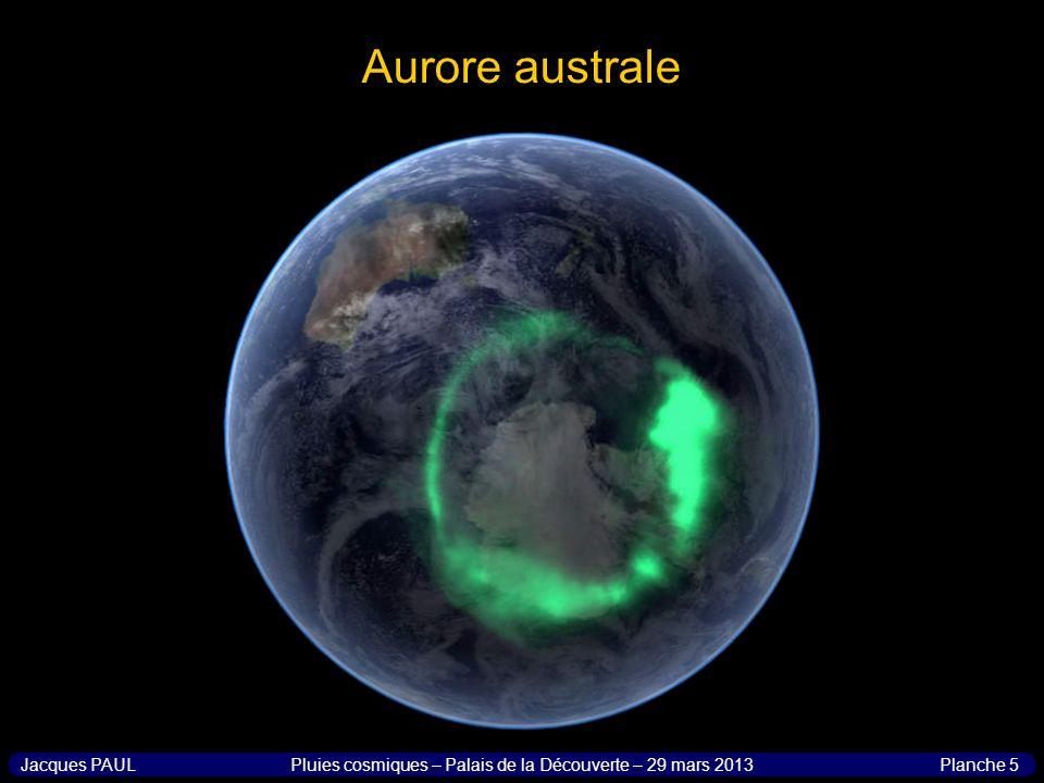 Pluies cosmiques – Palais de la Découverte – 29 mars 2013