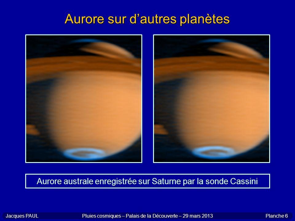 Aurore sur d'autres planètes