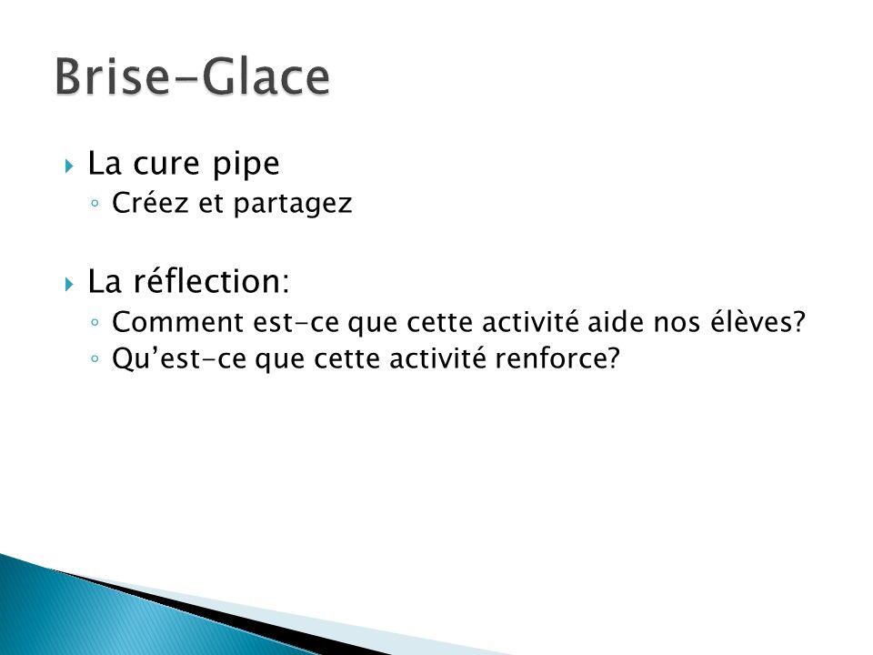 Brise-Glace La cure pipe La réflection: Créez et partagez