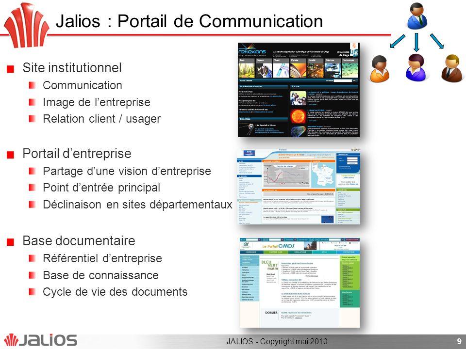 Jalios : Portail de Communication