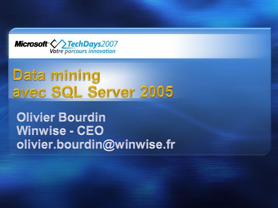 Data mining avec SQL Server 2005
