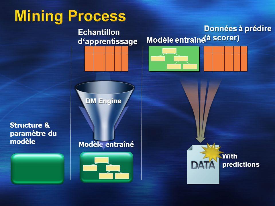 Mining Process Données à prédire (à scorer)
