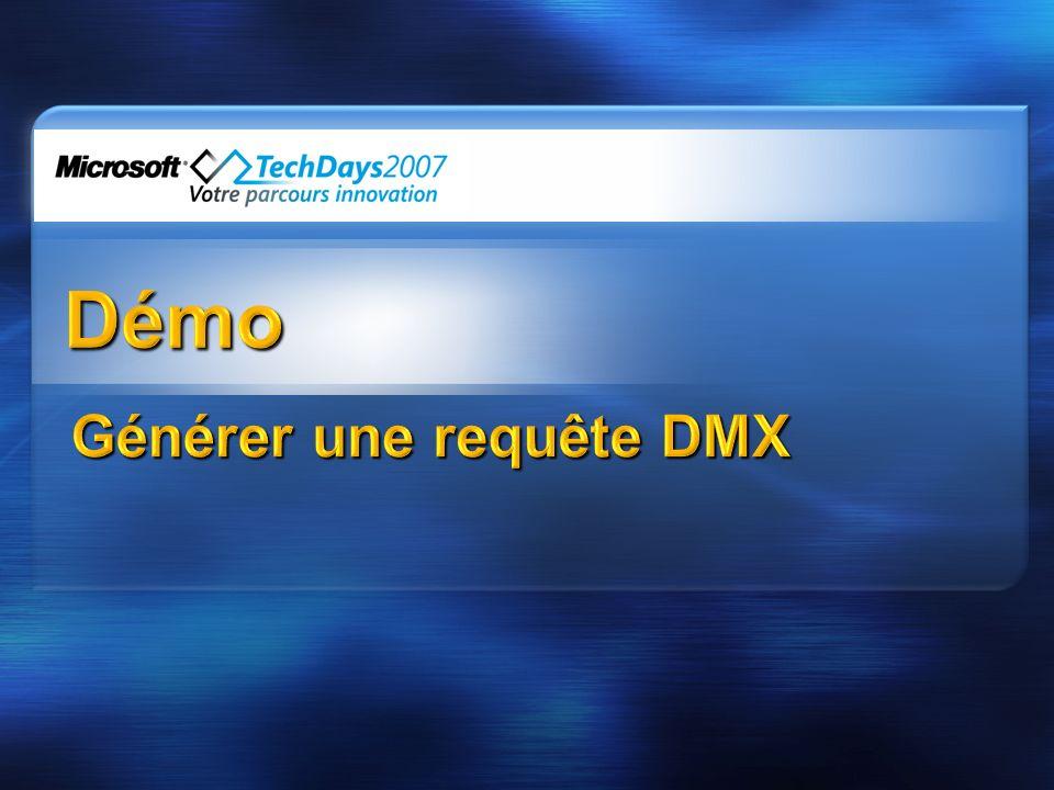 Générer une requête DMX