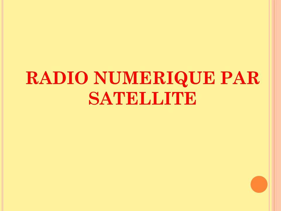RADIO NUMERIQUE PAR SATELLITE