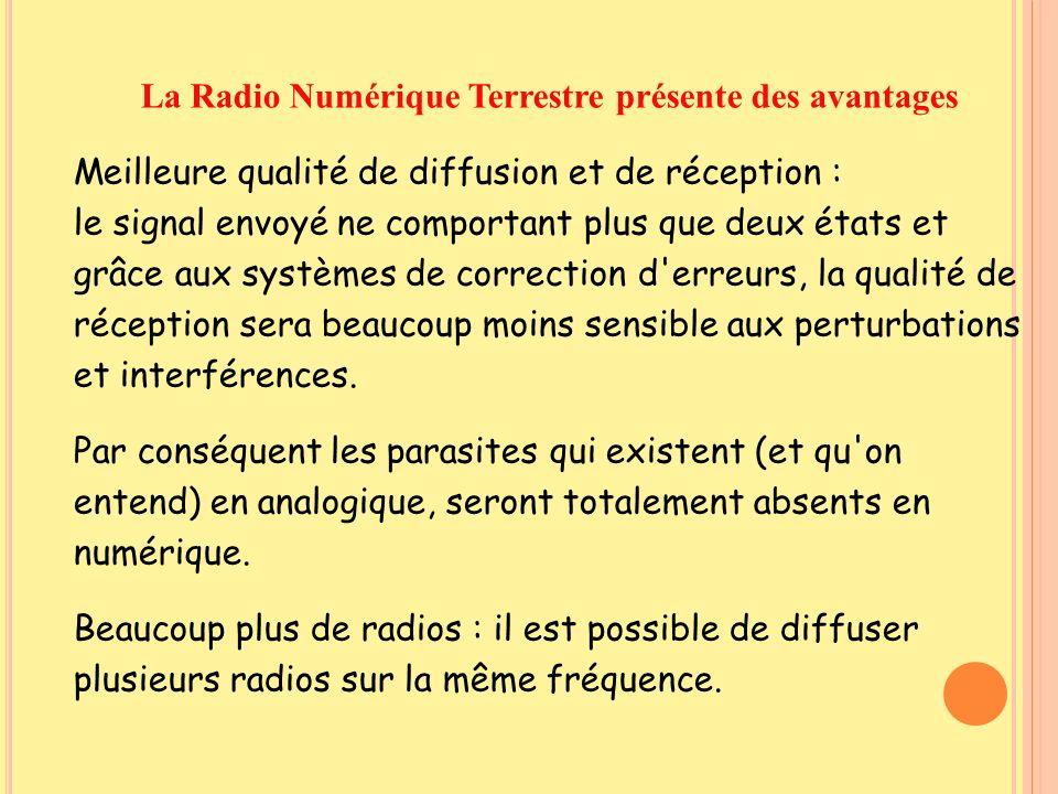 La Radio Numérique Terrestre présente des avantages