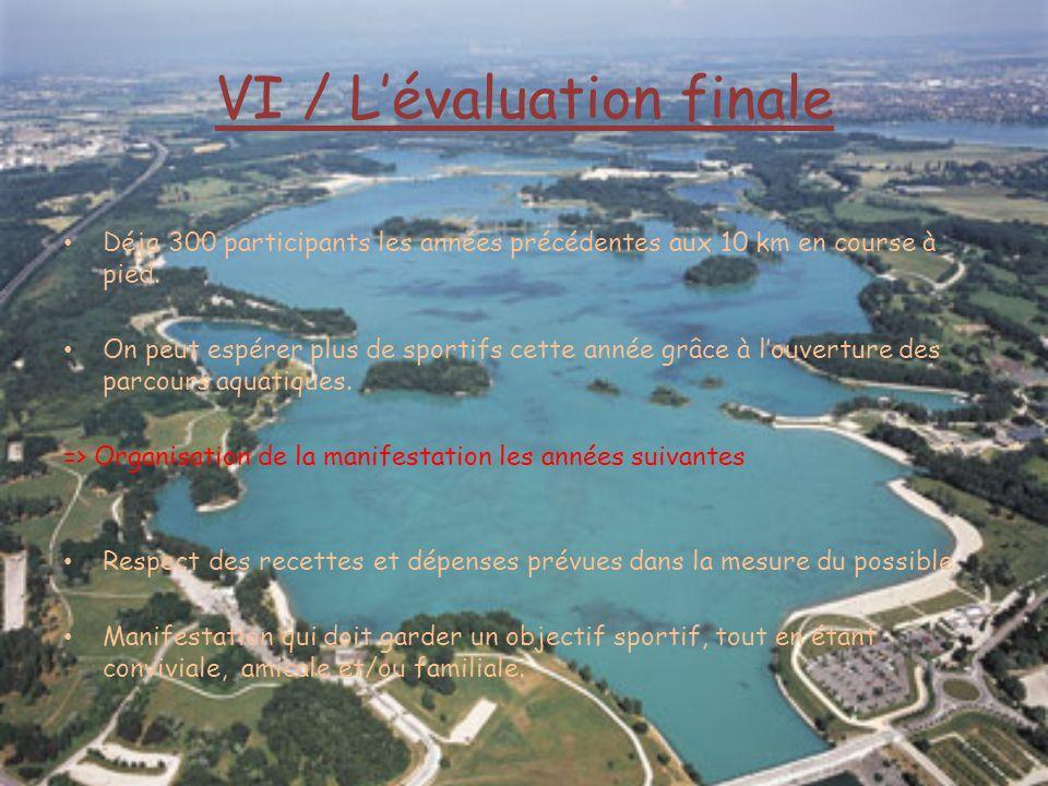 VI / L'évaluation finale