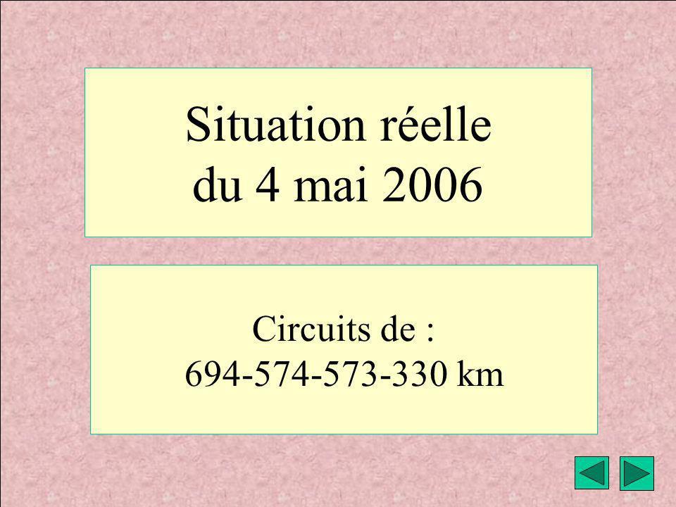 Situation réelle du 4 mai 2006