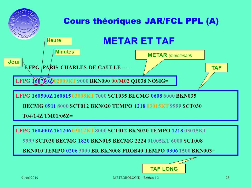 METEOROLOGIE - Edition 4.2