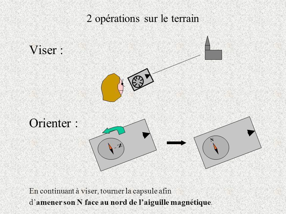 2 opérations sur le terrain