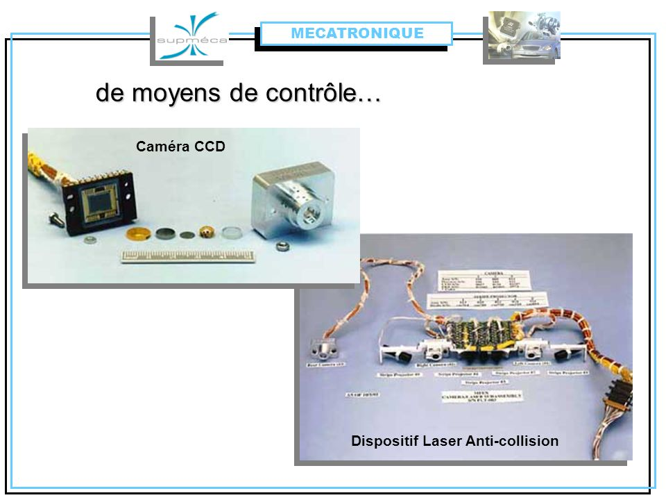 Dispositif Laser Anti-collision