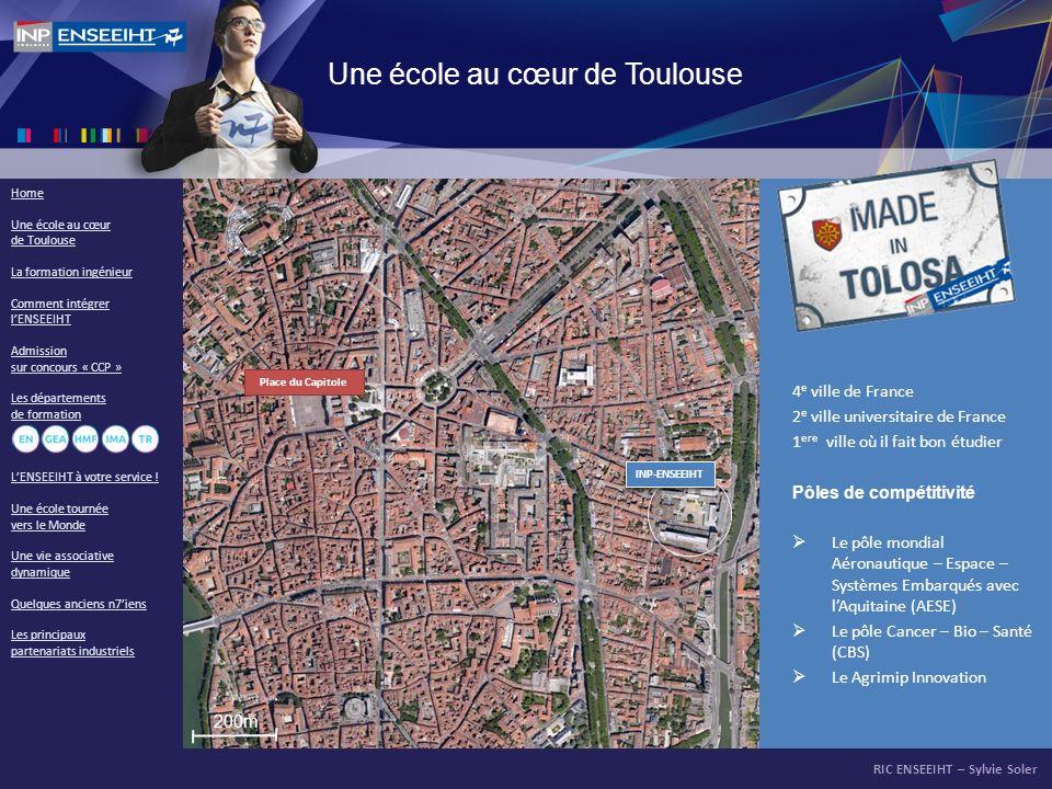 Une école au cœur de Toulouse