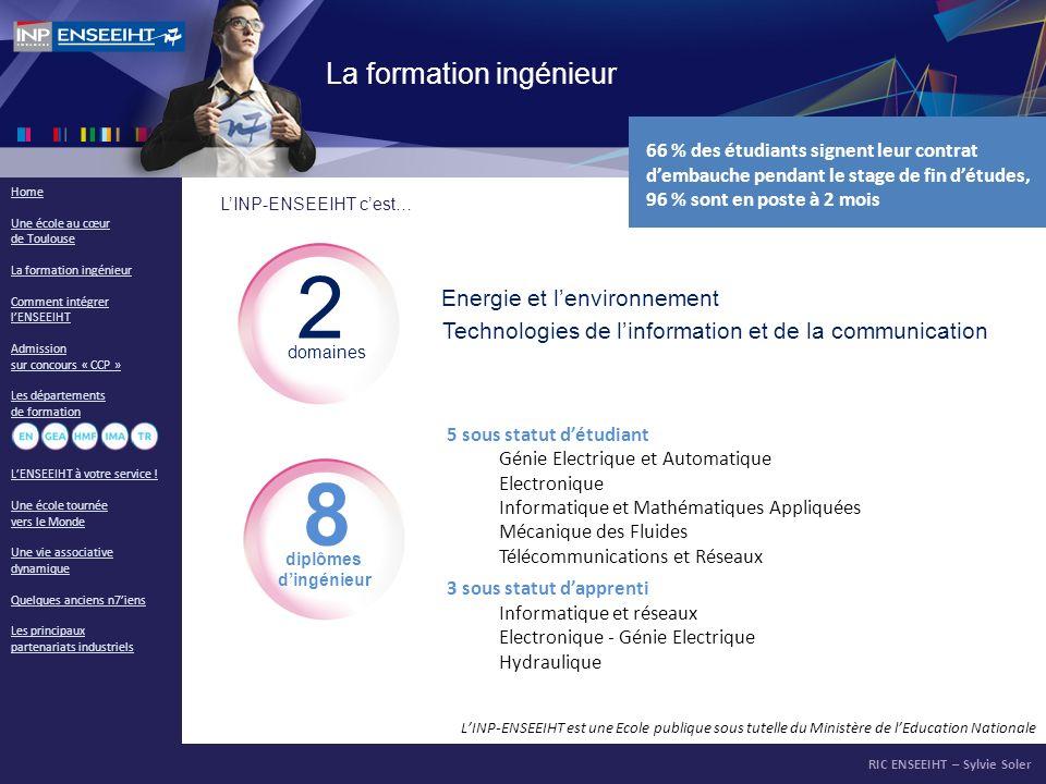2 8 La formation ingénieur Energie et l'environnement