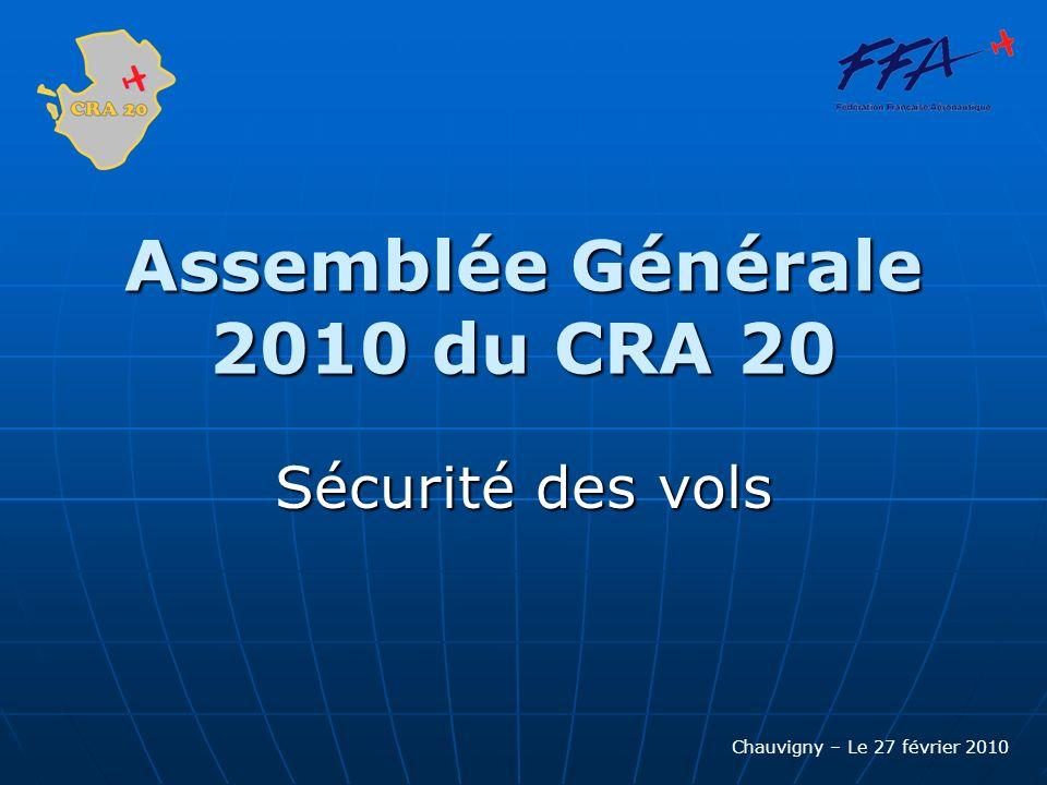 Assemblée Générale 2010 du CRA 20