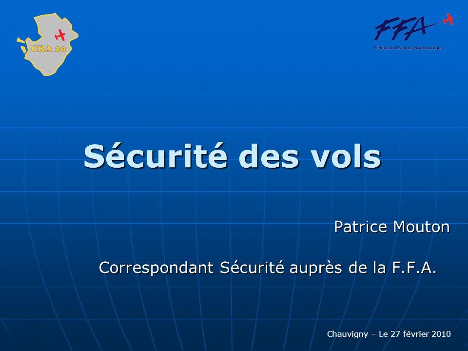 Patrice Mouton Correspondant Sécurité auprès de la F.F.A.