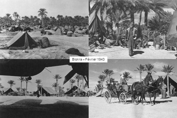 Biskra – Février 1943