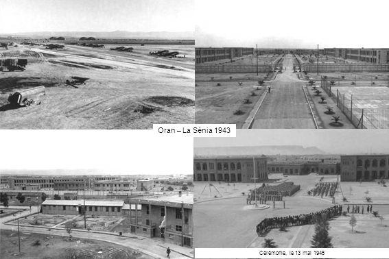Oran – La Sénia 1943 Cérémonie, le 13 mai 1945