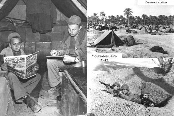 Dernière diapositive Youks-les-Bains 1943