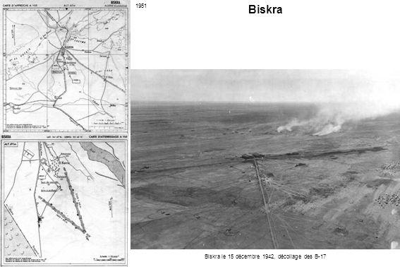 Biskra le 15 décembre 1942, décollage des B-17