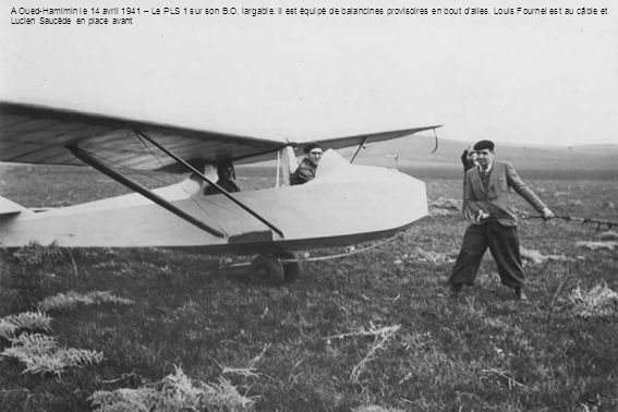 A Oued-Hamimin le 14 avril 1941 – Le PLS 1 sur son B. O. largable