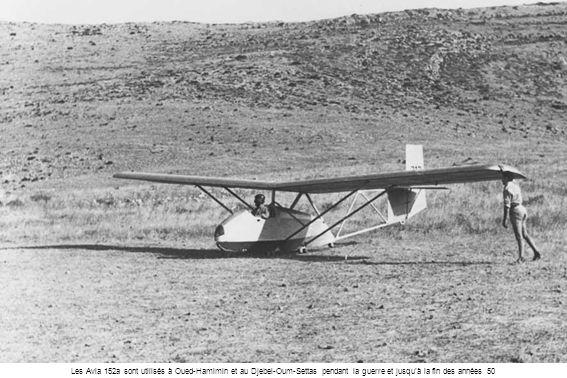 Les Avia 152a sont utilisés à Oued-Hamimin et au Djebel-Oum-Settas pendant la guerre et jusqu'à la fin des années 50