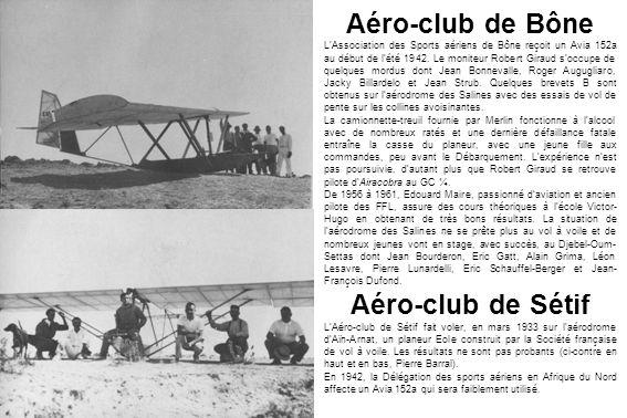 Aéro-club de Bône Aéro-club de Sétif