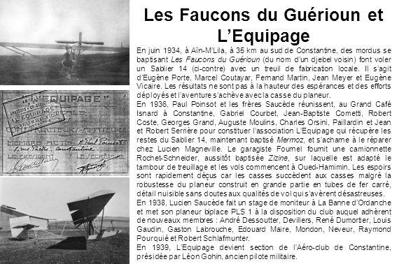 Les Faucons du Guérioun et L'Equipage