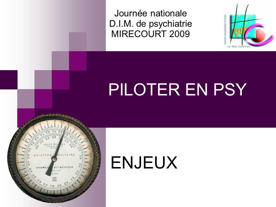 PILOTER EN PSY ENJEUX