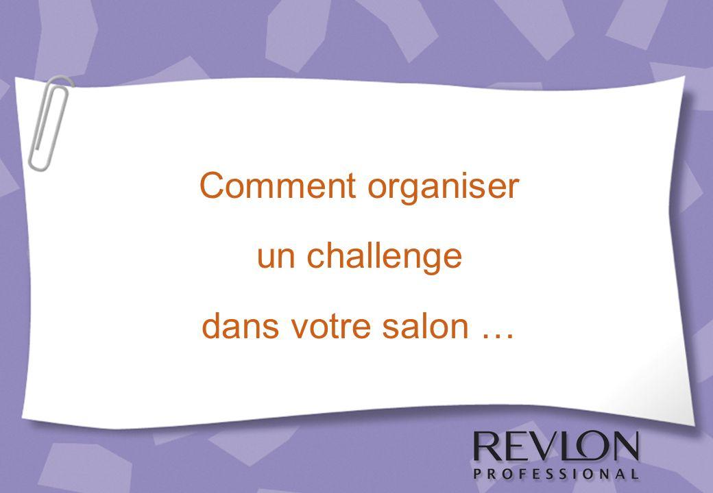 Comment organiser un challenge dans votre salon …