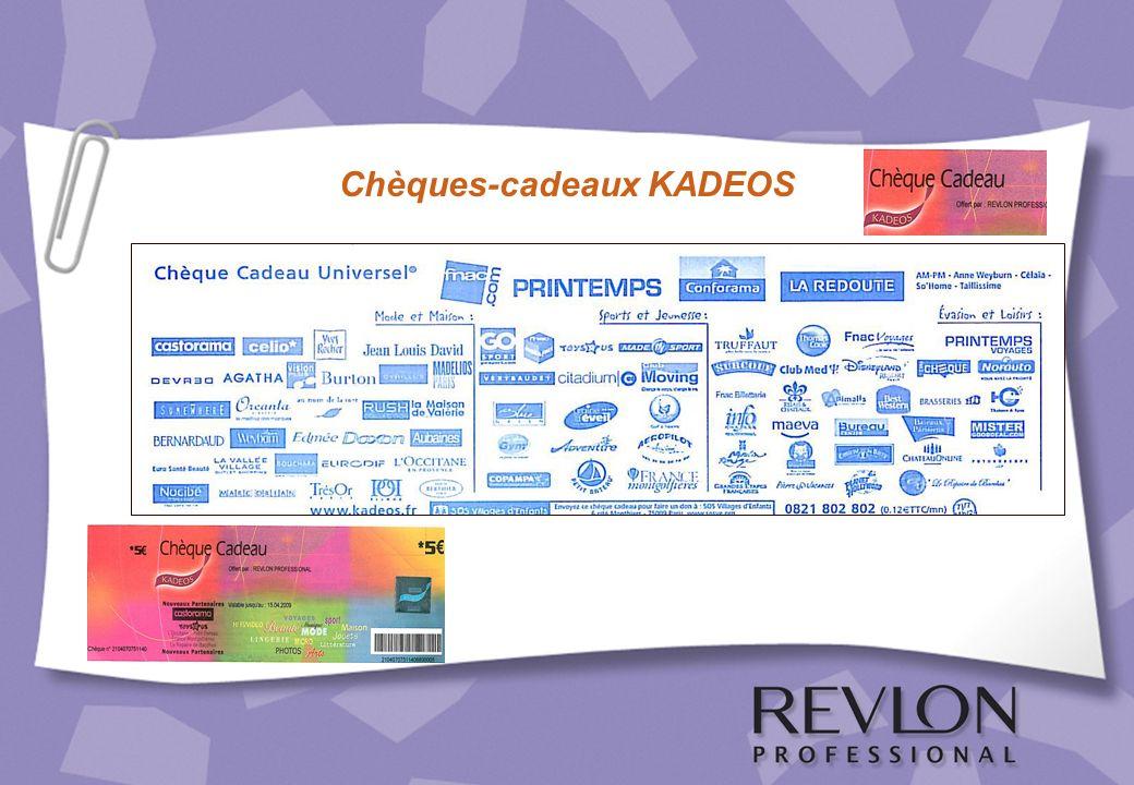 Chèques-cadeaux KADEOS