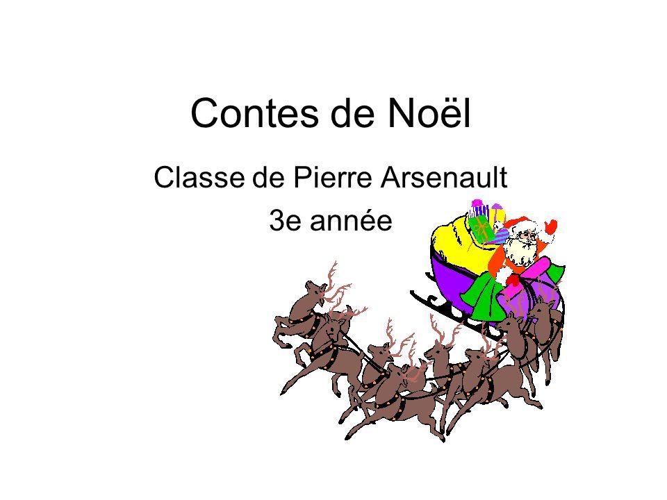 Classe de Pierre Arsenault 3e année