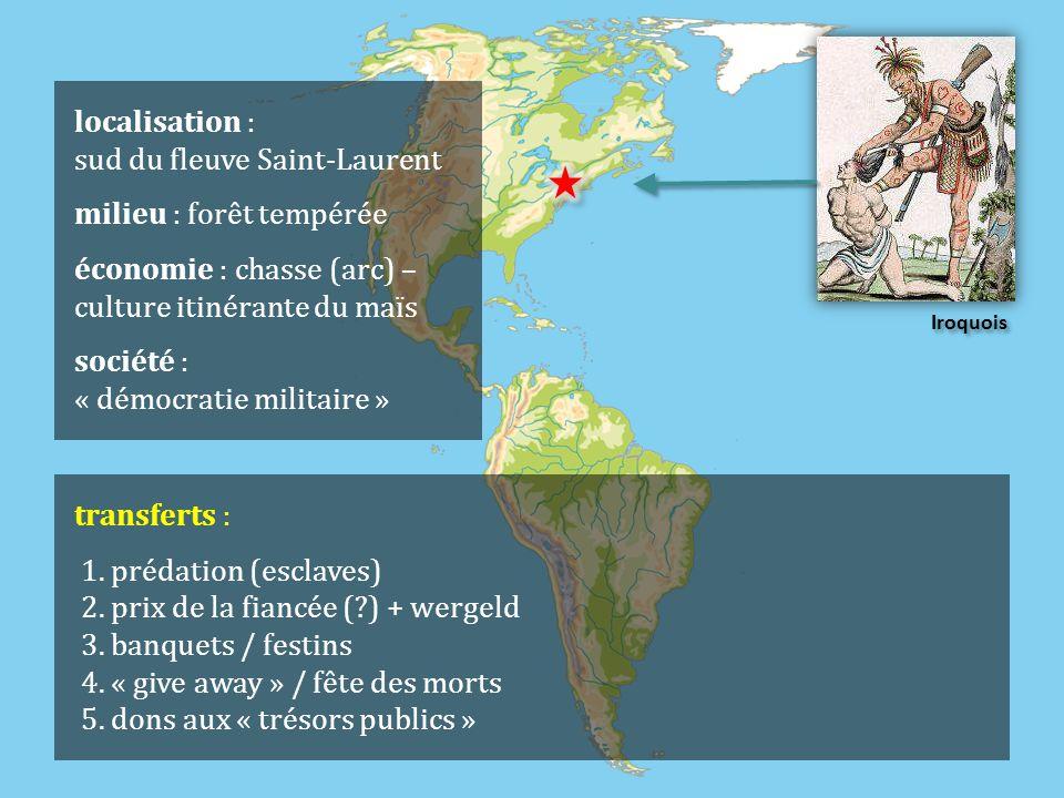 localisation : sud du fleuve Saint-Laurent milieu : forêt tempérée