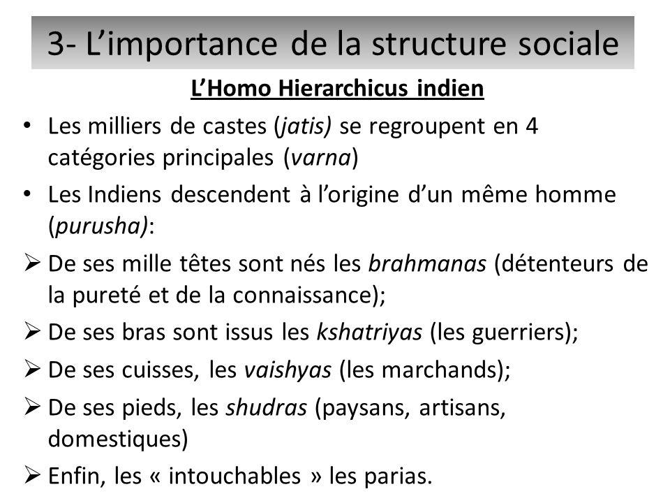 3- L'importance de la structure sociale