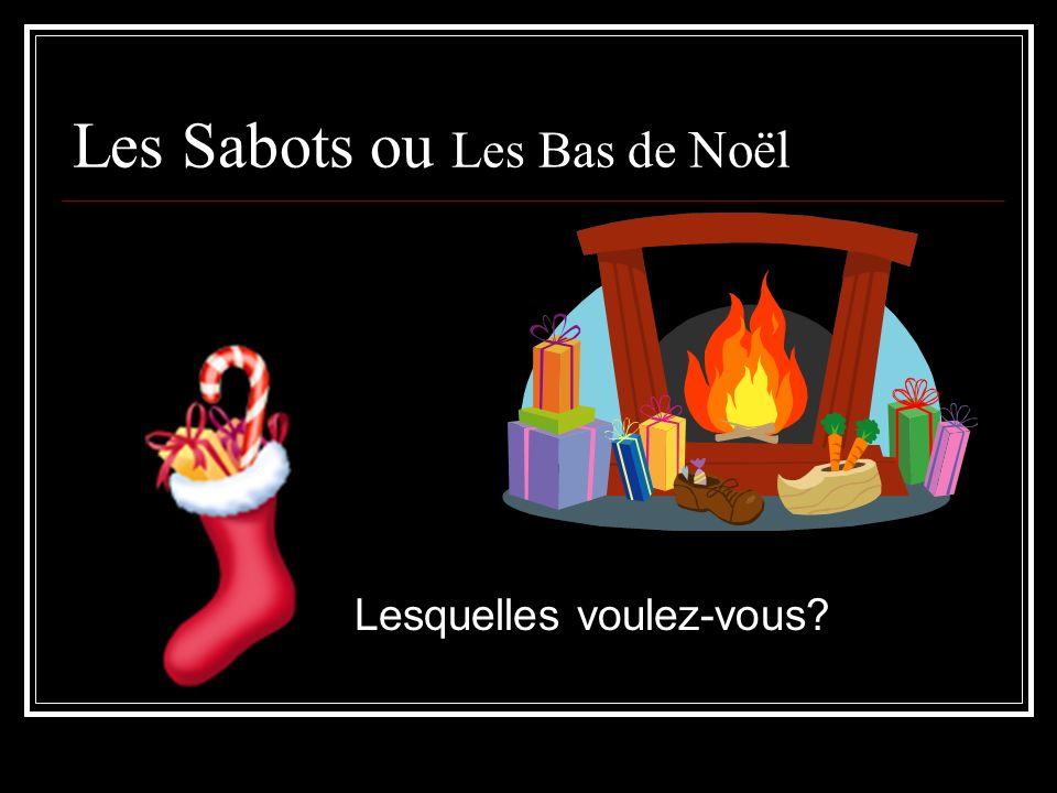 Les Sabots ou Les Bas de Noël