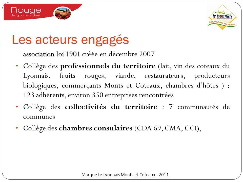 Marque Le Lyonnais Monts et Coteaux - 2011