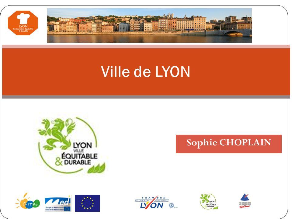 Ville de LYON Sophie CHOPLAIN