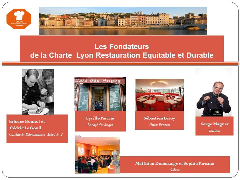 Les Fondateurs de la Charte Lyon Restauration Equitable et Durable