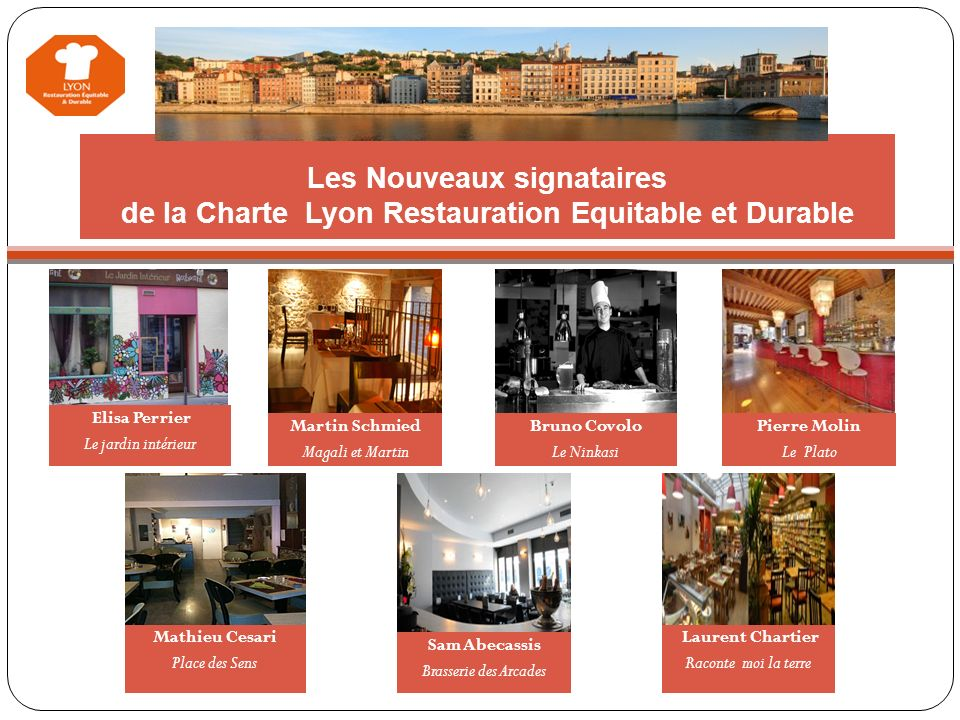 Restauration Lyonnaise Equitable et Durable - ppt video online ...